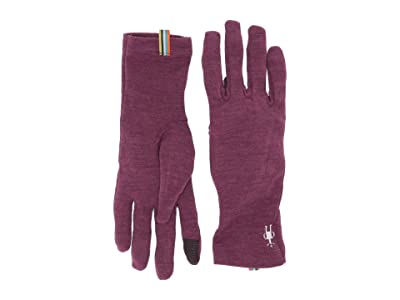 Smartwool Merino 250 Gloves (Sangria Heather) Extreme Cold Weather Gloves