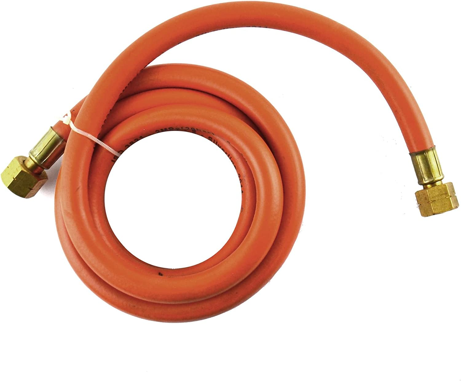2m Propane Gas Hose Industry No. 1 Female Connector For Translated 8mm Bore Regulators Tor