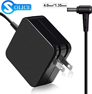 SOLICE 19V 2.37A 45W Laptop Power AC Adapter Charger for Asus Zenbook UX305 UX21A UX32A Series Taichi 21 31 Asus Transformer Book Flip T300LA TP300LA Fits:ADP-45AW A 4.01.35mm