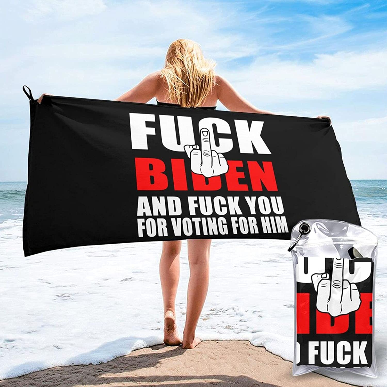 Fuck Topics on TV Joe Biden and You for Voting Super sale Him Quick Microfiber