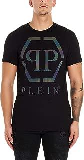 Philipp Plein Luxury Fashion Mens MTK4261PJY002N02 Black T-Shirt |