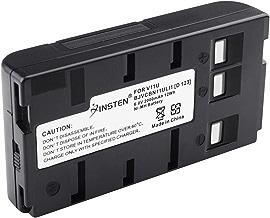 BN-V11U Insten Rechargeable Camcorder Battery High Capacity for JVC BN-V10U, BN-V11U, BN-V12U, BN-V14U, BN-V15, BN-V18U, BN-V22U, BN-V24U, BN-V25U PANASONIC PV-BP15 PV-BP17 Digital Camera