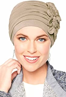Flapper Turban - Vintage Flapper Hat in Soft Bamboo