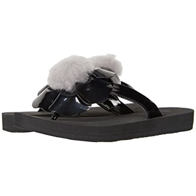 UGG Kids Poppy (Little Kid/Big Kid) (Black) Girls Shoes