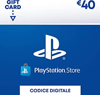 PlayStation Network PSN Card 40€   Codice download per PSN - Account italiano