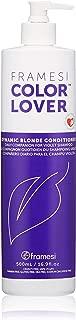 Framesi Color Lover Dynamic Blonde Conditioner - 16.9 Ounce, Color Safe, Blonde Hair Conditioner, Brightest Blonde Conditioner and Blonde Hair Treatment, Gluten Free
