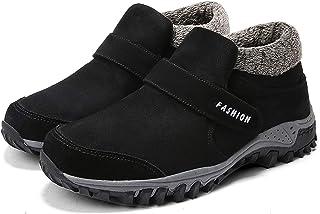 ZYSTMCQZ Hiver Hommes Bottes Bottes de Neige Chaudes extérieures Chaussures d'hiver pour Adultes Hommes de la Cheville en ...