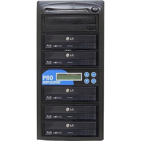 Produplicator 1 to 5 Blu-ray BD BDXL M-Disc CD DVD Duplicator - Standalone Copier Duplication Tower
