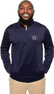 Dallas Cowboys Mens Wycliff Quarter-Zip Pullover