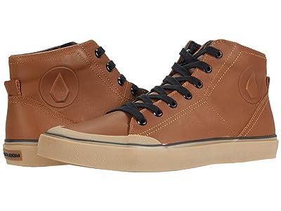 Volcom Hi Fi Lx Shoes (Rust) Men