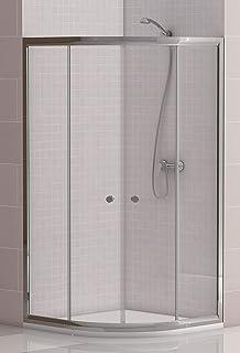 Amazon.es: MAMPARA SEMICIRCULAR ducha de baño