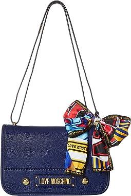 Shoulder Bag with Scarf
