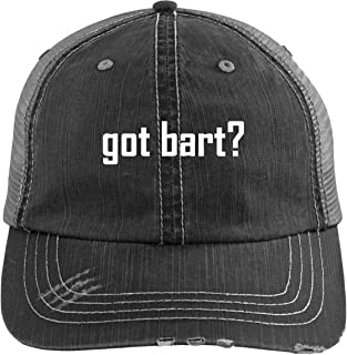 got bart? - A Nice Comfortable Adjustable Embroidered Hashtag Dad Hat Cap