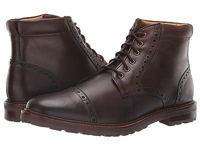 Florsheim Estabrook Cap Toe Boot (Brown Crazy Horse) Men