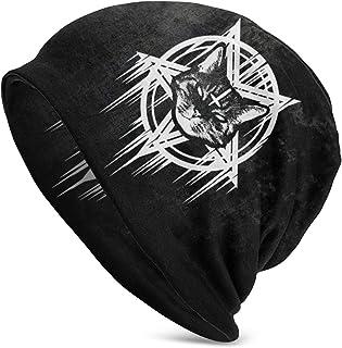 Satanische Black Metal Katze CAT 666 Unisex Sandwich Cap Trucker Cap