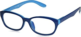 Peepers Women's Good Morning, Charlie 2366250 Oval Reading Glasses, Blue, 2.25