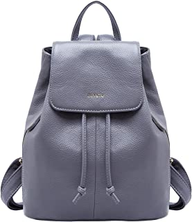 BOYATU Genuine Leather Mini Backpacks for Women Elegant Ladies Purse Fashion Bag
