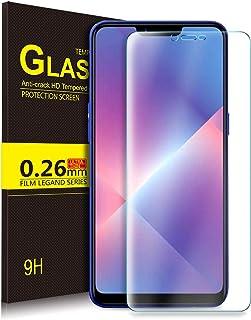 شاشة حماية من الزجاج المقوى من كوجي لموبايل اوبو A5/a3s/R15 نيو، درجة صلابة 9H ودقة عالية HD، خالية من الفقاعات وسهلة التر...