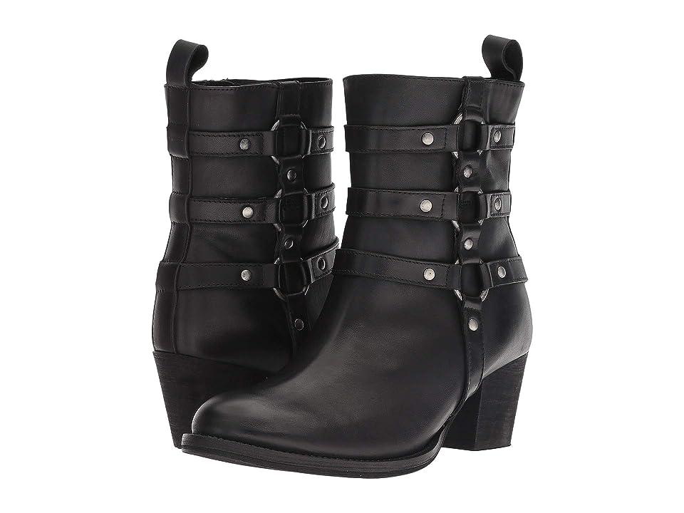 Dingo Noir (Black Leather) Cowboy Boots