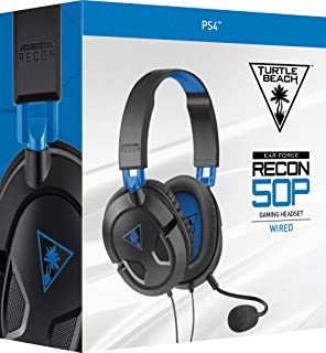 Turtle Beach Ear Force Recon 50P Stereo Gaming Headset, Blue (PlayStation 4)