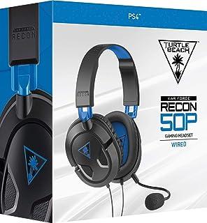 سماعات راس اير فورس ريكون 50 بي ستيريو للالعاب، متوافقة مع اجهزة PlayStation 4 من تيرتل بيتش بلون ازرق