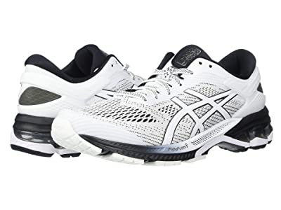 ASICS GEL-Kayano(r) 26 (White/Black) Women