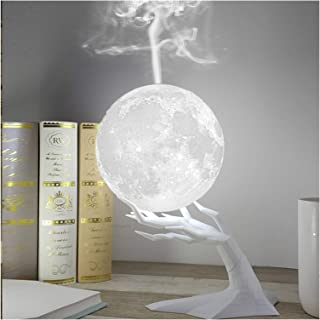 YOUPIN LED Moonlight Lamp 880ML Ultrasonic Air Humidifier Aroma Essential Oil Diffuser USB Night Lights Mist Maker Humidif...