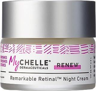 MyChelle Dermaceuticals Remarkable Retinal™ Night Cream Nutrient-Rich Moisturizer with Vitamin A for All Skin Types, Cruel...