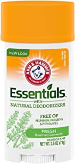 Arm & Hammer Deodorant 2.5oz Essentials Fresh by Arm & Hammer (Pack of 3)