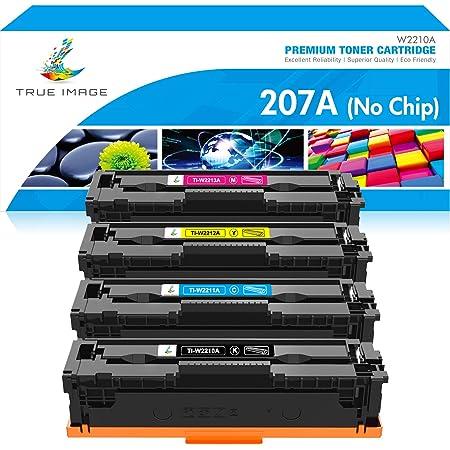 True Image Compatible Toner Cartridge Replacement For Hp 207a 207x W2210x W2210a W2211a W2212a W2213a Toner For Hp Color Laserjet Pro Mfp M282 M283 M283fdw Hp Color Laserjet Pro M255dw M255 Amazon De