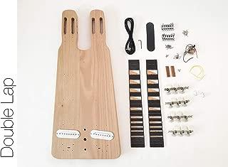 DIY Electric Guitar Kit - Double Neck Lap Steel Build Your Own