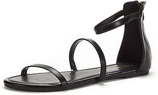 Women's Athena_Low Gladiator Ankle Strap Fashion Flat Sandals