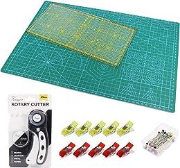 Tapis de Découpe A3 + Cutter Rotatif +Lame de Rech