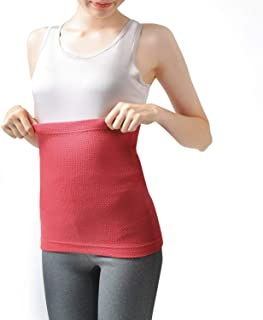 LALOCO Soft Waffle Thermal Underwear Belly Warmer Winter Warm Tops Base Layer for Women
