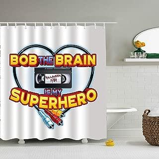 Nicholas Dunlop Bob Newby My Superhero Shower Curtain - Decorative Fabric Shower Curtain (72