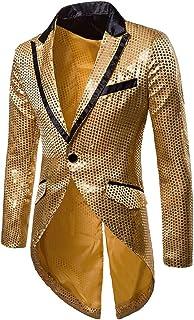 [MANMASTER(マンマスター)] 燕尾服 スワローテールド ジャケット スパンコール ステージ衣装メンズ CH250...