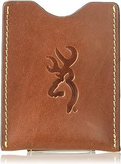 Browning Men's Bandera Card Clip Wallet | Cognac
