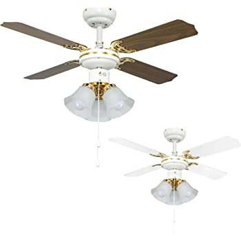 Farelek Baleares - Ventilador para techo (132 cm): Amazon.es: Hogar