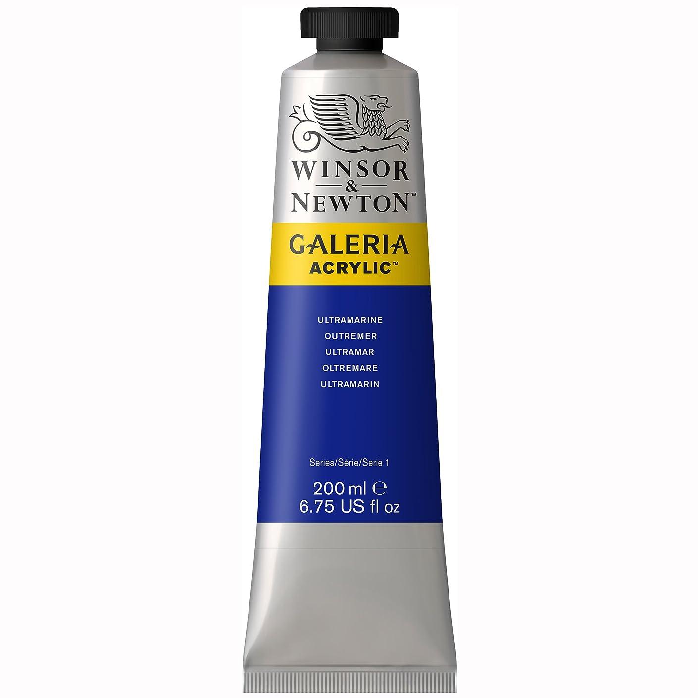 Winsor & Newton Galeria Acrylic Paint, 200ml Tube, Ultramarine