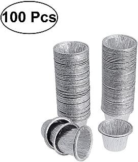 OUNONA - Molde para tartas de huevo (100 unidades)