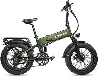 I·PAS YAMEE 500W/750W 48V Eletric Bike for Adult Fat Bear &750S Ebikes 20``4.0 Fat Tires Ebike 11.6AH Samsung Lithium Batt...