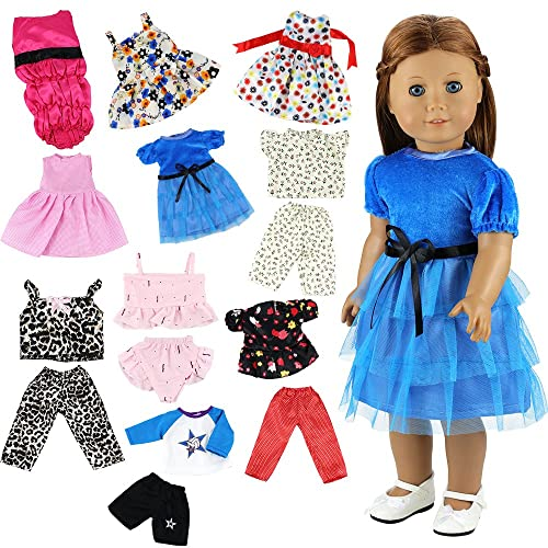 Miunana Clothes Outfits Dresses Swimsuits Bikini For 16-18 Inch American  Girl Dolls And Other 8a0268bcd