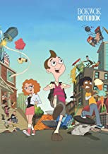 Notebook: Milo Murphy Law Medium College Ruled Notebook 129 pages Lined 7 x 10 in (17.78 x 25.4 cm)