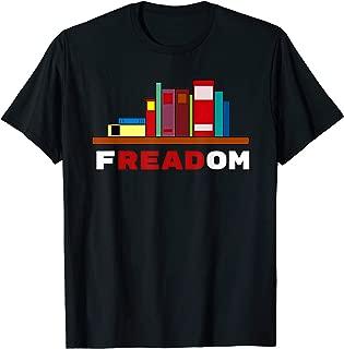 Freadom - I Read Banned Books T-Shirt