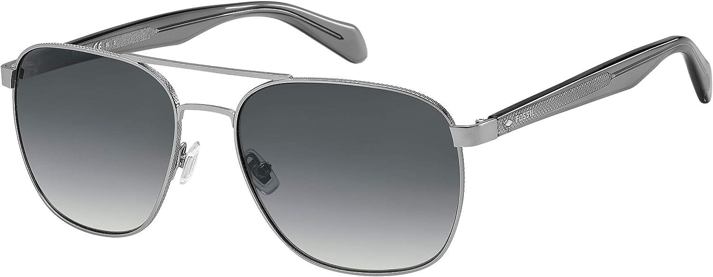 Fossil Men's Fos 2081/S Pilot Sunglasses