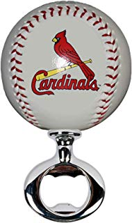 EBINGERS PLACE St. Louis Cardinals Licensed Baseball Fulcrum Series Bottle Opener