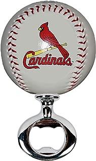 EBINGERS PLACE St. Louis Cardinals Licensed Baseball Fulcrum Series Bottle Opener