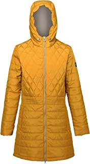 Regatta Parmenia Insulated Quilted Lined Jacket with Fold Down Hood Mujer