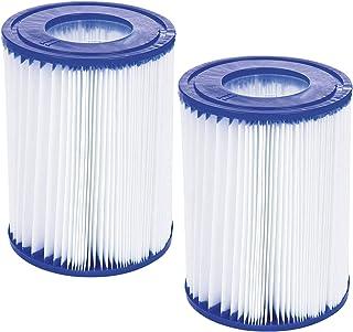 WRYIP Cartucho de filtro tipo II para filtro de piscina Bestway, elemento de filtro de repuesto para Bestway 58094, cartucho de filtro antimicrobiano tipo II (2 unidades)