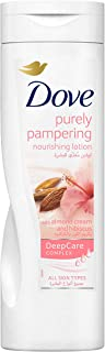Dove Purely Pampering Nourishing Lotion with Almond Cream and Hubiscus, 250ml